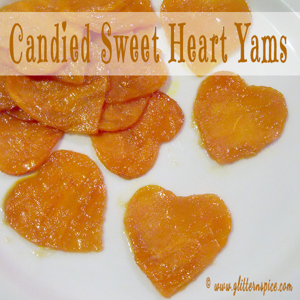 Sweet Heart Candied Yams Made With Real Maple Syrup