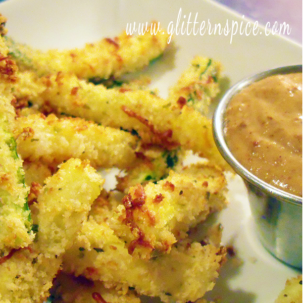 Best Baked Zucchini Sticks And Onion Dip Ever!