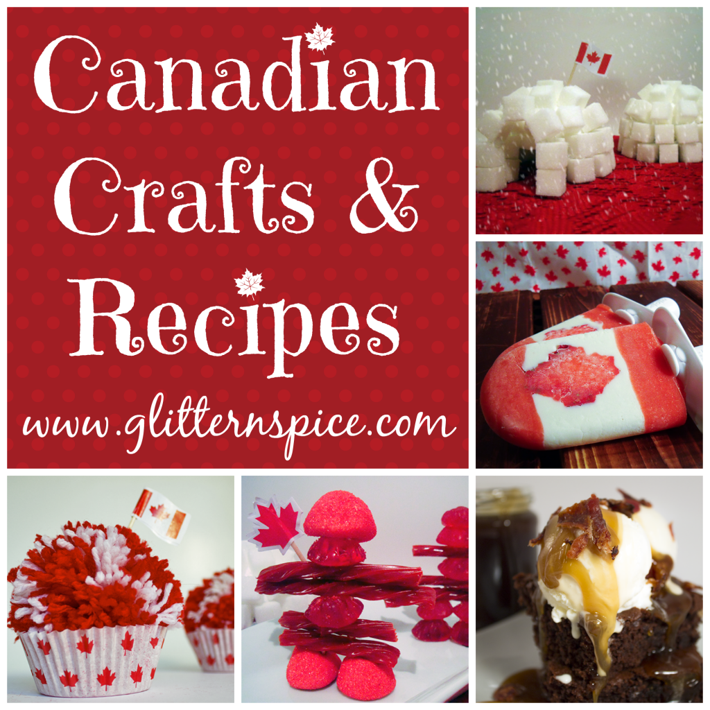 Canadian crafts and recipes for canada day celebrations glitter n canadian crafts and recipes forumfinder Images