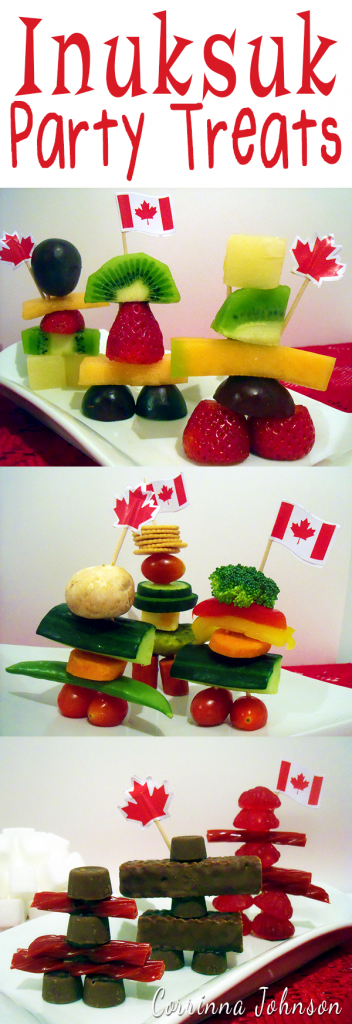 Inuksuk Statue Party Treats