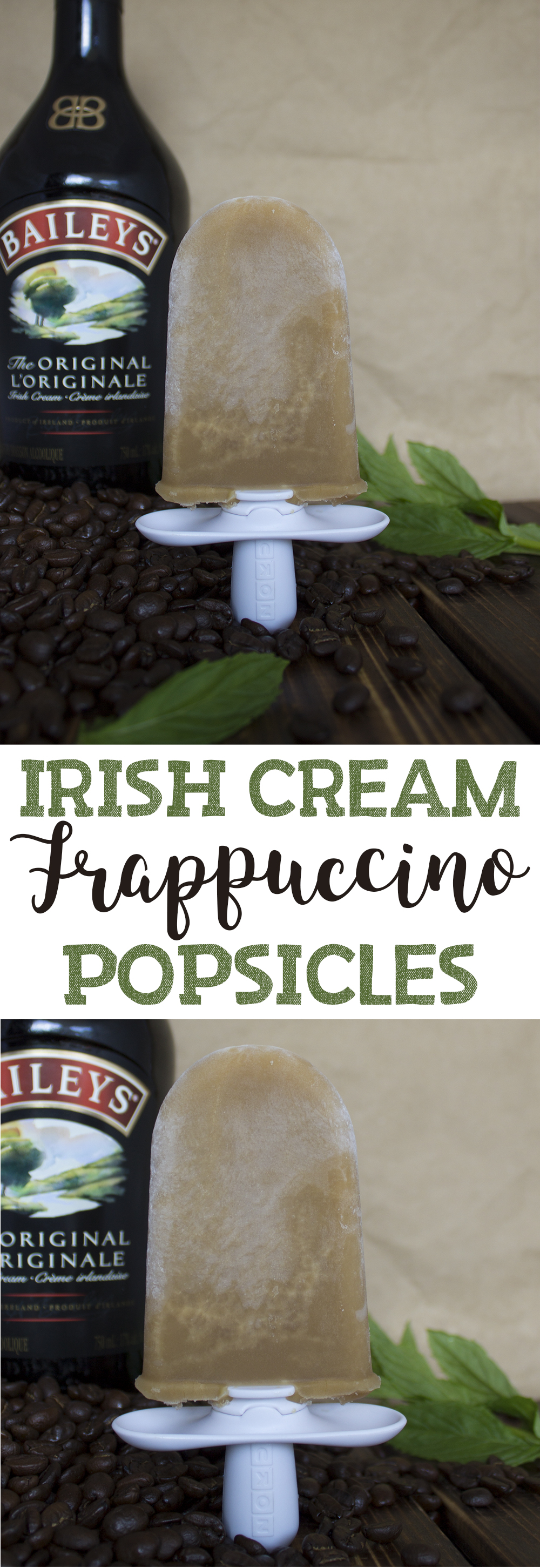 Irish Cream Frappuccino Popsicles