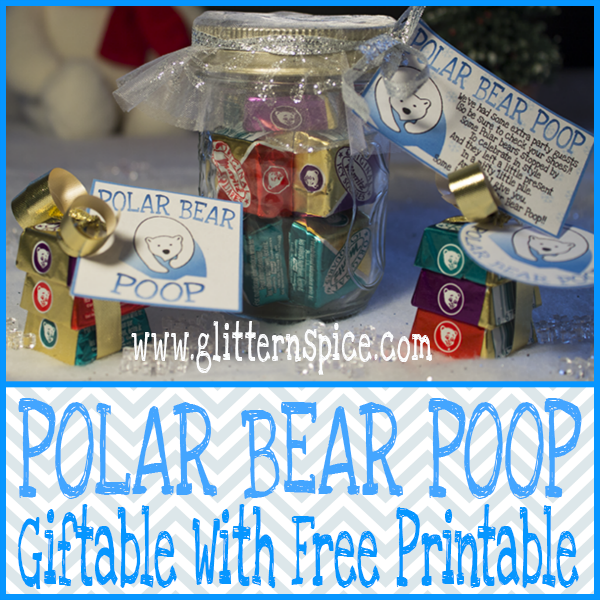 Polar Bear Poop Giftable And Free Printable