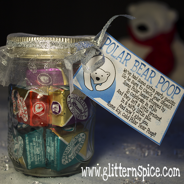 Polar Bear Poop Mason Jar Giftable
