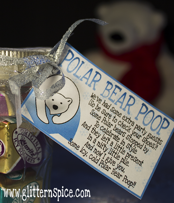 Polar Bear Poop Printable Poem Gift Tag