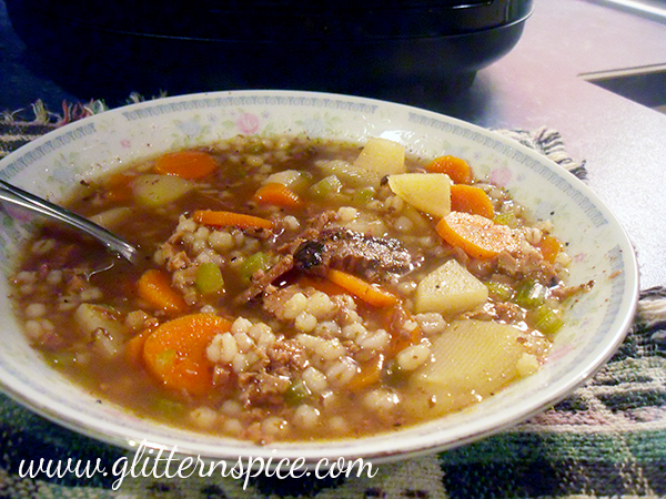 Slow Cooker Recipe – Beef Barley Soup