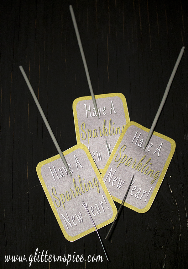 New Years Eve Party Favors - Sparklers