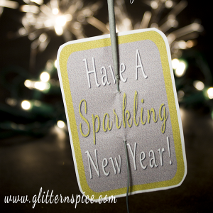 New Years Eve Printable Sparkler Party Favors