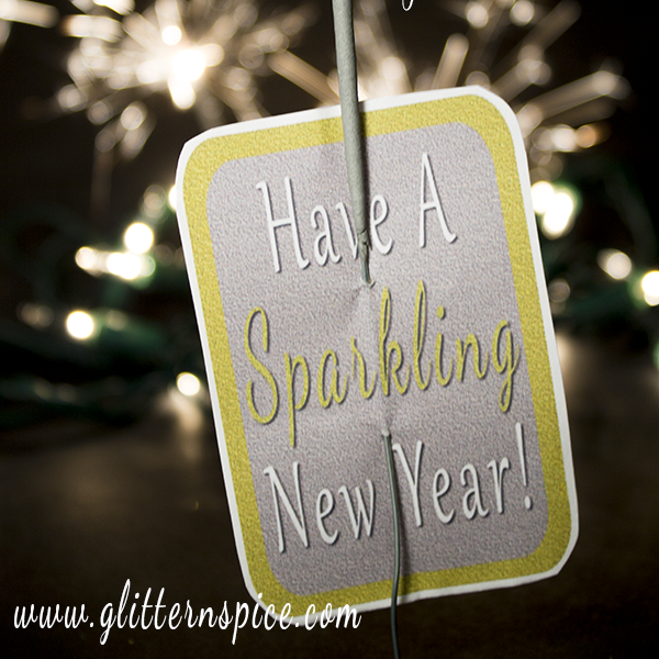Sparkling New Years Eve Party Favors