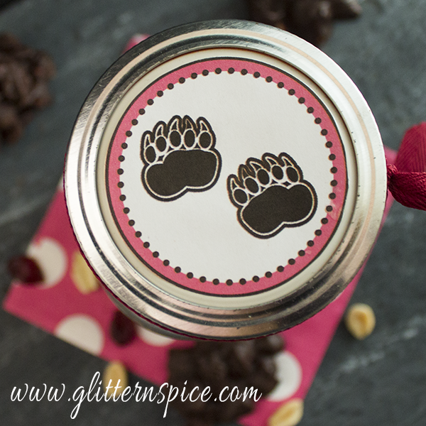 Bear Poop Printable Jar Topper