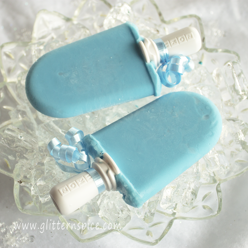 Cotton Candy Popsicles