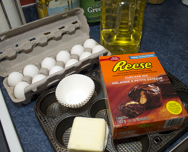 Reese Chocolate Peanut Butter Cupcakes Ingredients