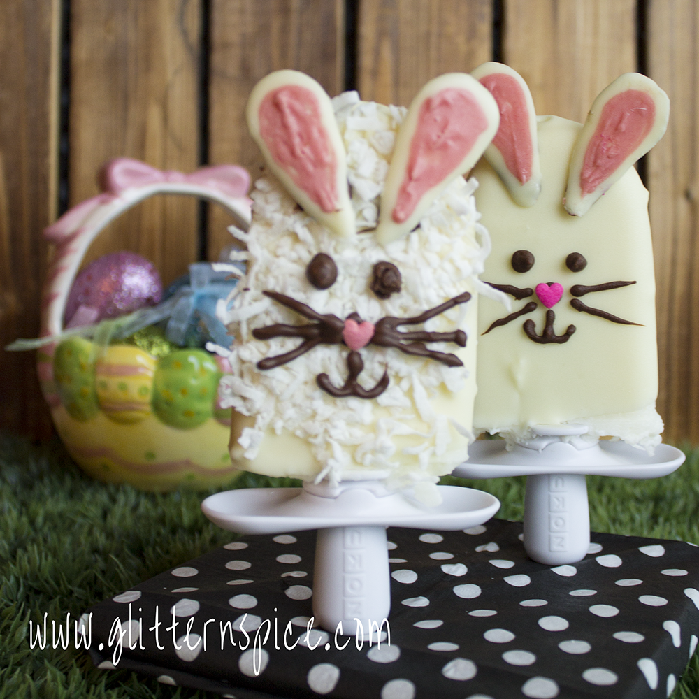 How To Decorate Popsicles To Look Like Easter Bunnies