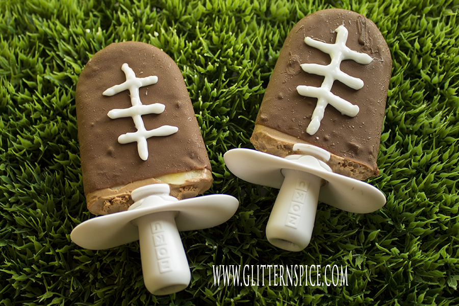 Football Party Snack Ideas: Football Popsicles