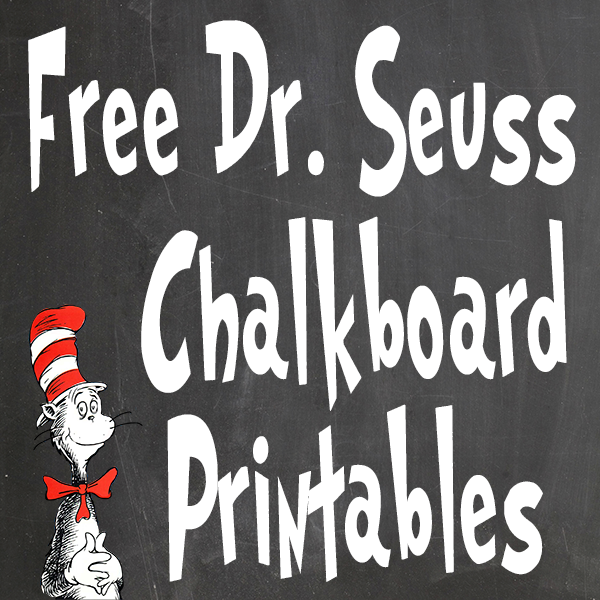 Printable Dr. Seuss Wall Art