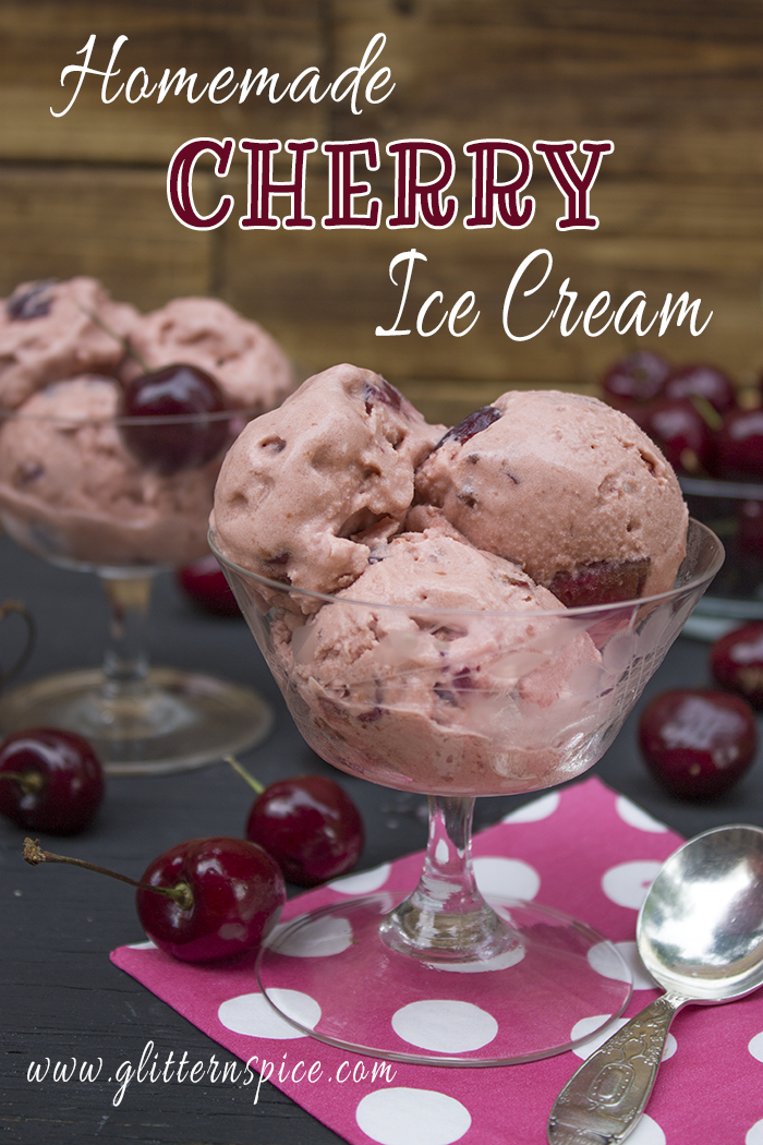 Homemade Cherry Ice Cream Recipe