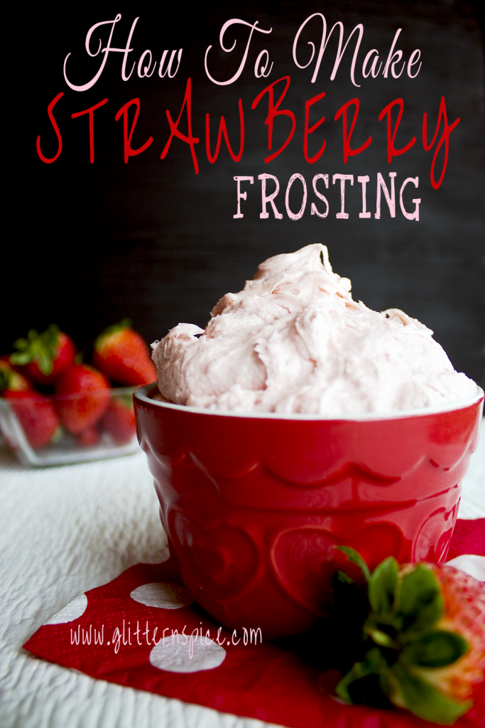 How To Make Strawberry Frosting
