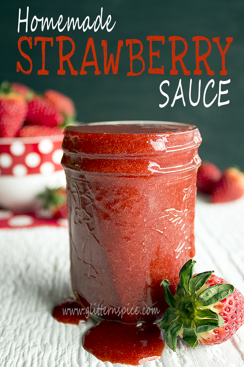 How To Make Strawberry Sauce