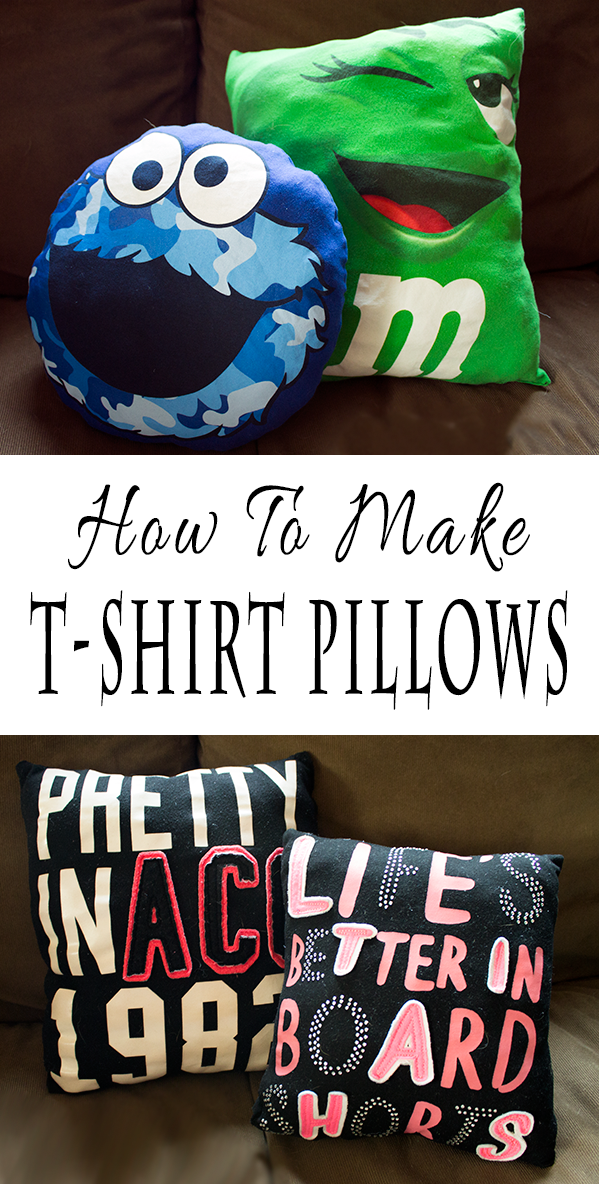 Sewing Craft For Kids - Learn How To Make T-Shirt Pillows