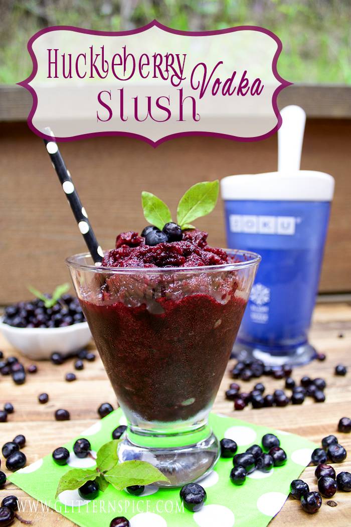 Huckleberry Vodka Slush