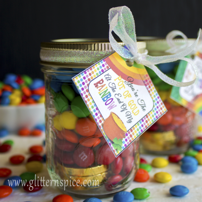 Rainbow In A Jar | Free Rainbow Printables