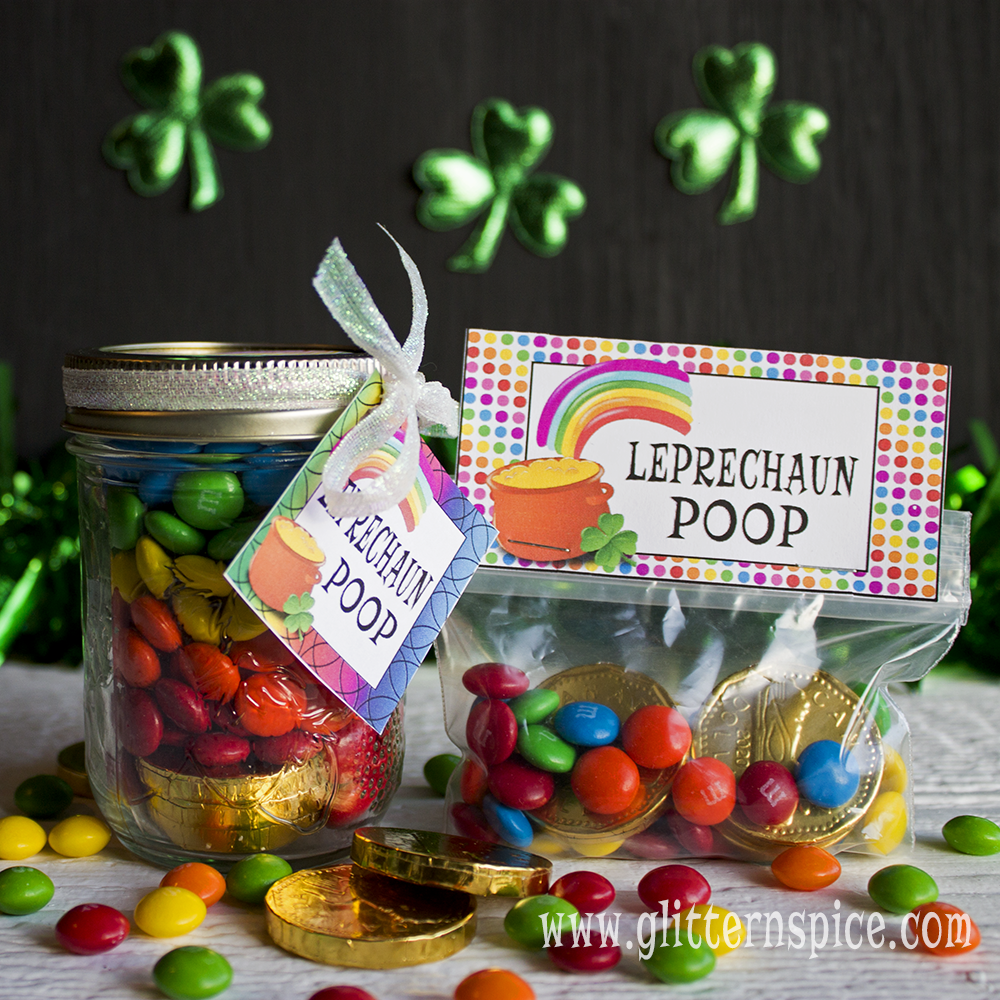 Leprechaun Poop | Chocolate Rainbows And Gold Coins