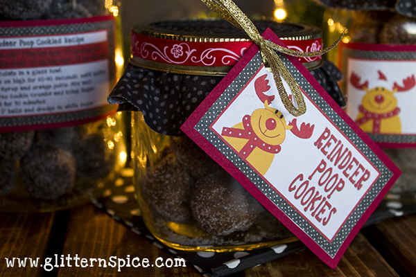 A Fun And Silly Reindeer Poop Gift