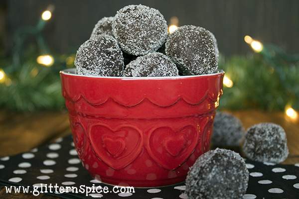 Reindeer Poop Cookies - No Bake Chocolate Sugar Balls