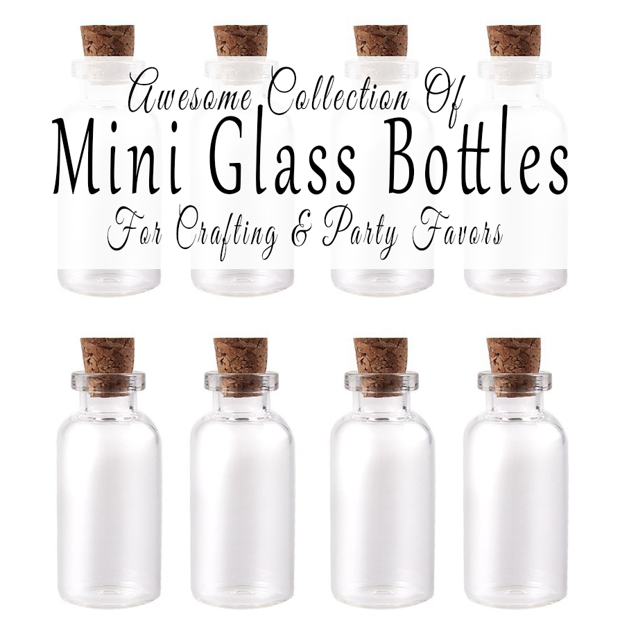 Where To Buy Mini Glass Bottles For Crafting And Party
