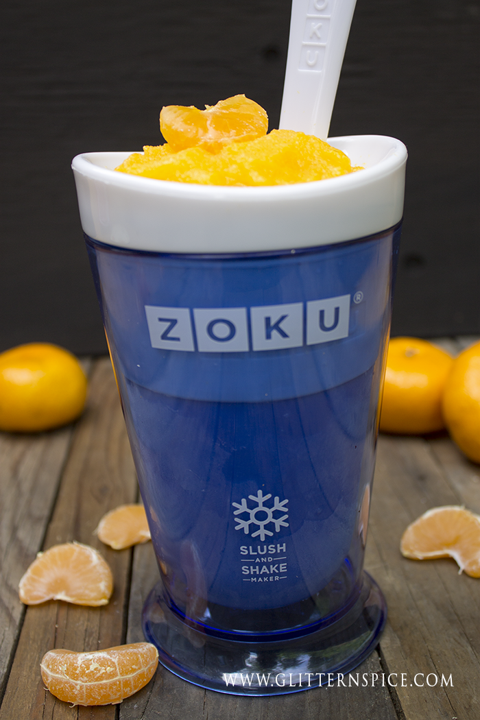 Mandarin Orange Slush - Zoku Slushie Recipe