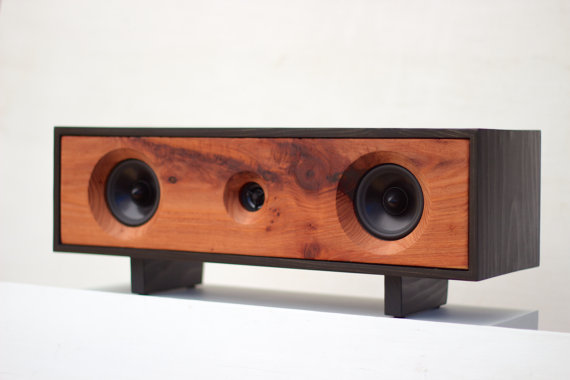 Bluetooth Reclaimed Wood Speakers