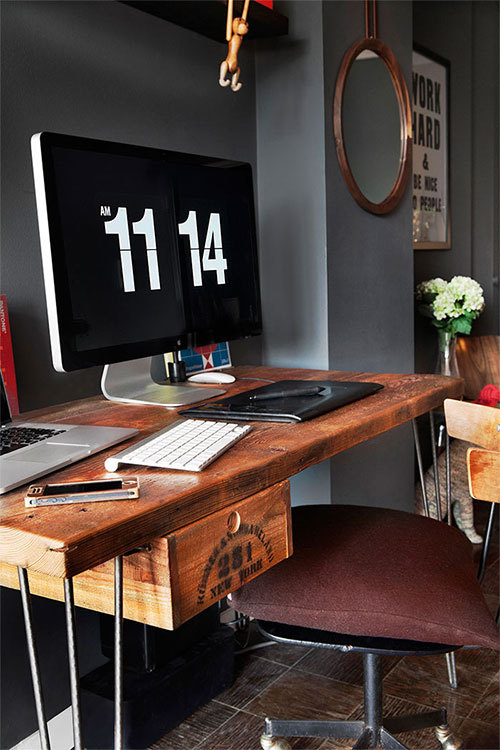 Urban Reclaimed Wood Desk