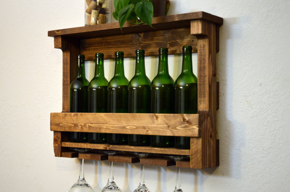 Reclaimed Wood Wine Rack - 50 Trendy Reclaimed Wood Furniture And Decor Ideas For Living