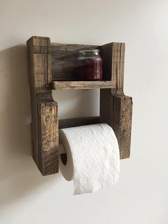 reclaimed wood furniture ideas. rustic reclaimed wood toilet paper holder furniture ideas i