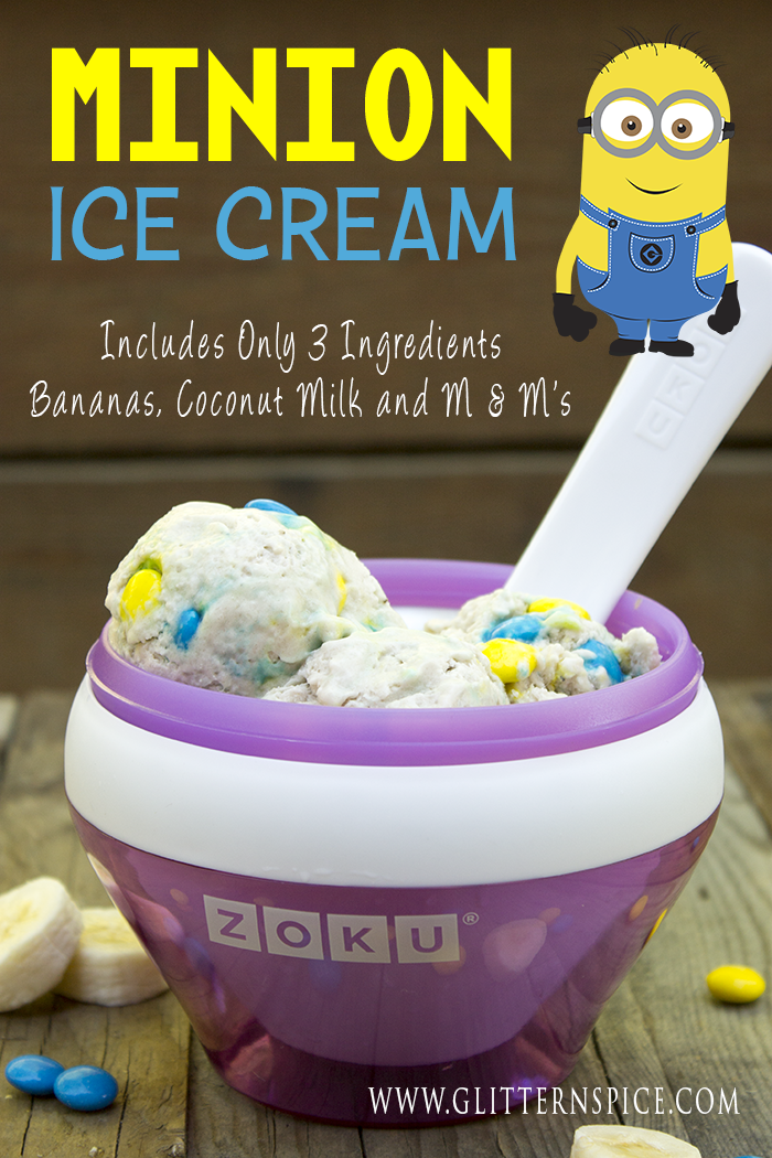 Minion Ice Cream | Zoku Ice Cream Recipe