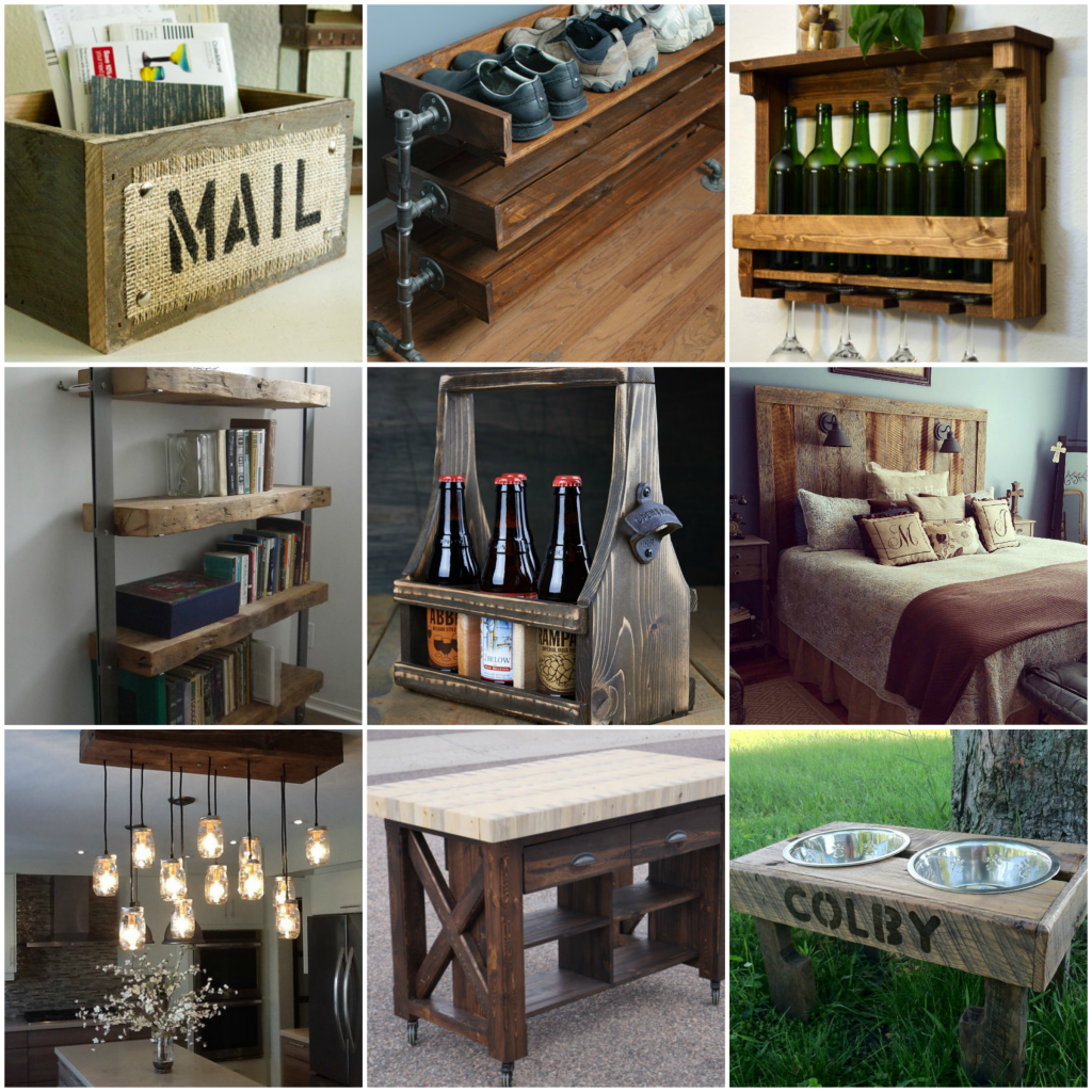 Reclaimed Wood Furniture And Decor