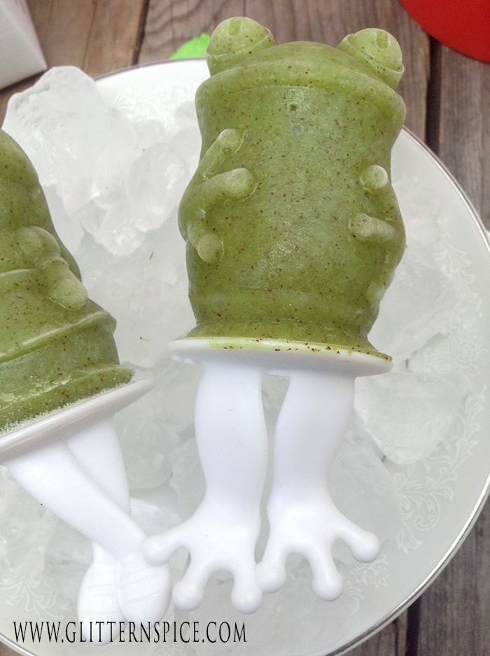 Princess And The Frog Popsicles And Party Favor Idea - Frog Popsicle