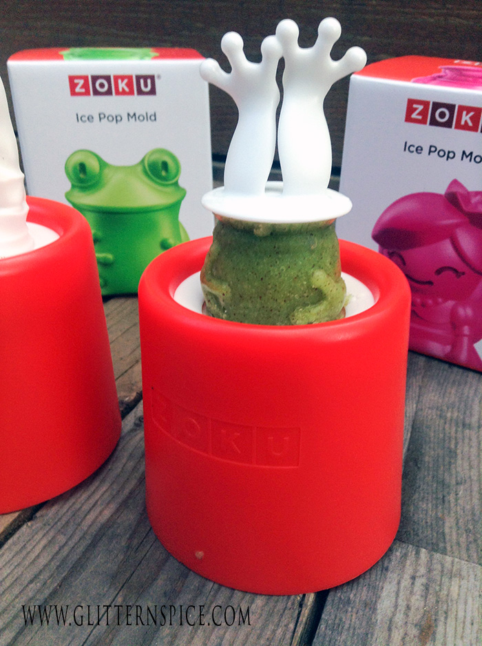 Zoku Character Ice Pop Molds, Frog