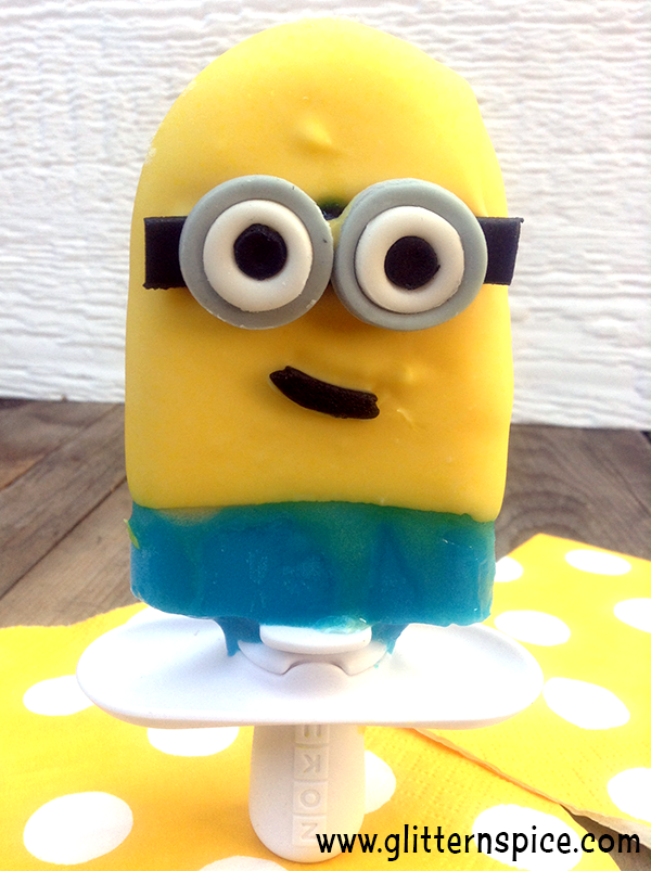Despicable Me Minion Popsicles