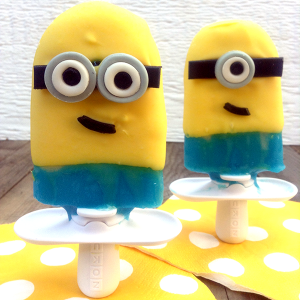 How To Make Minion Popsicles With Zoku Character Kit