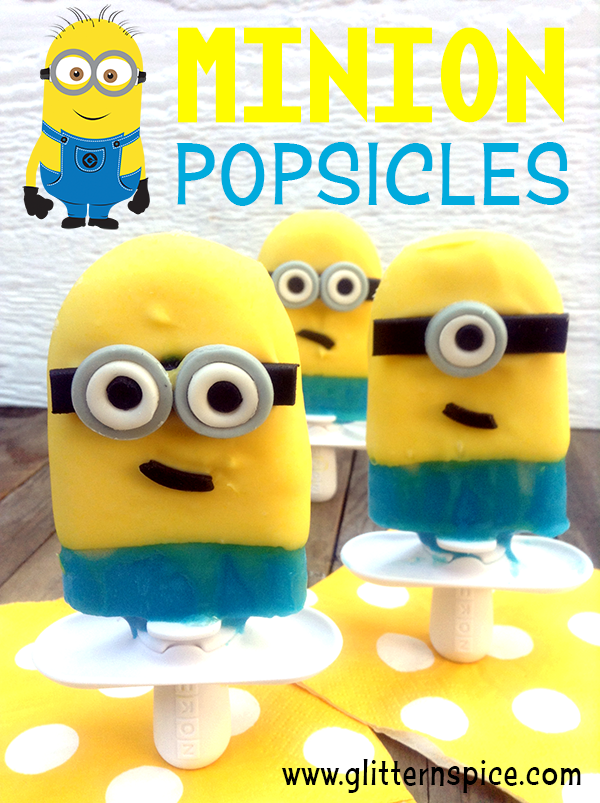 How To Make Despicable Me Minion Popsicles
