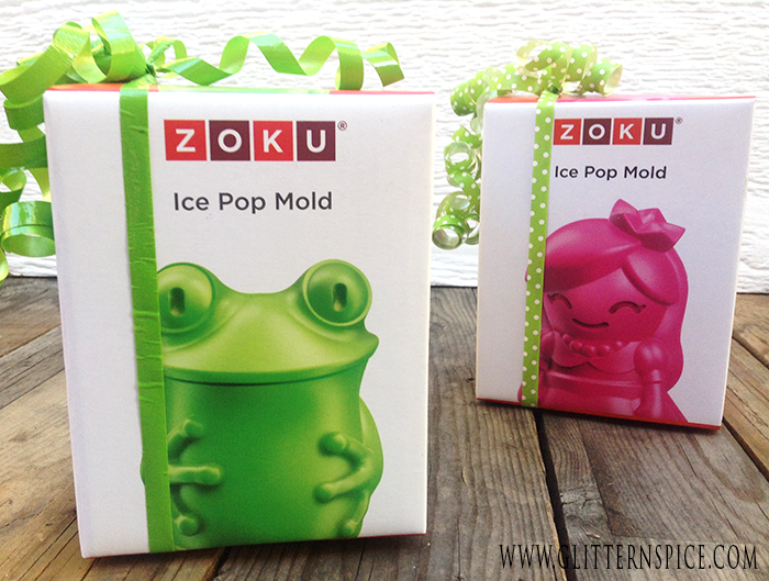 Princess And The Frog Birthday Party Snack And Party Favor Idea | Zoku Ice Pop Molds