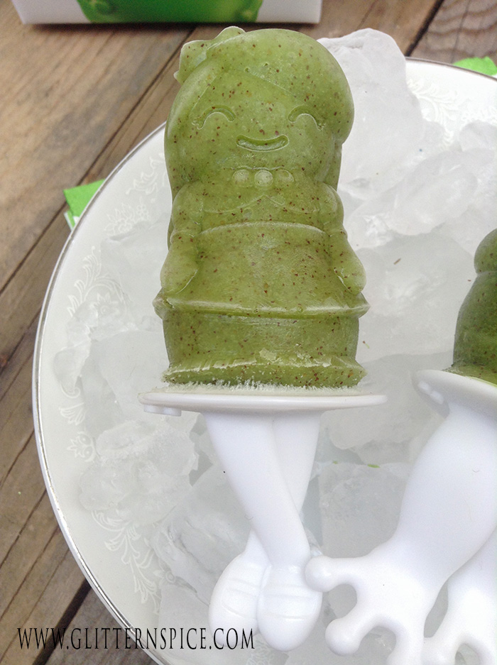 Princess And The Frog Popsicles And Party Favor Idea - Princess Popsicle