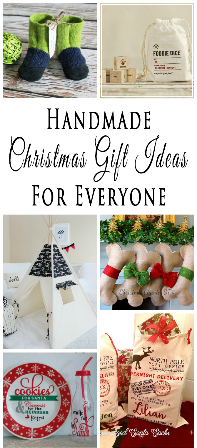Handmade christmas gift ideas for everyone on your list for Ideas for homemade useful christmas gifts