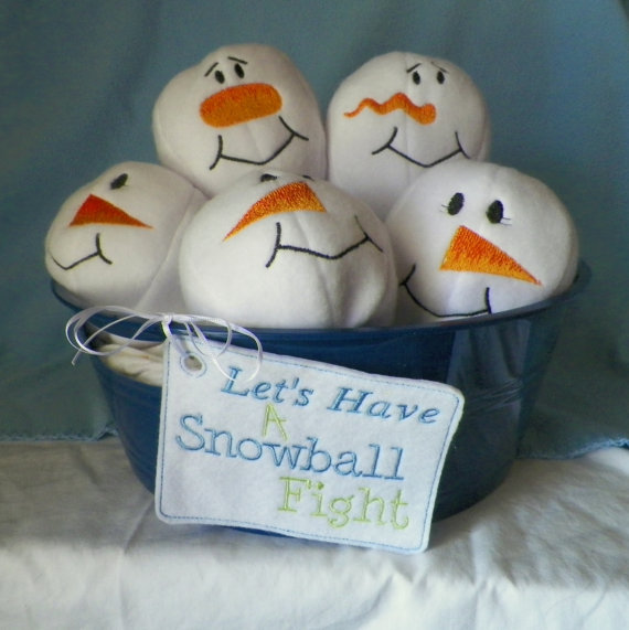 Indoor Snowball Fight Toy
