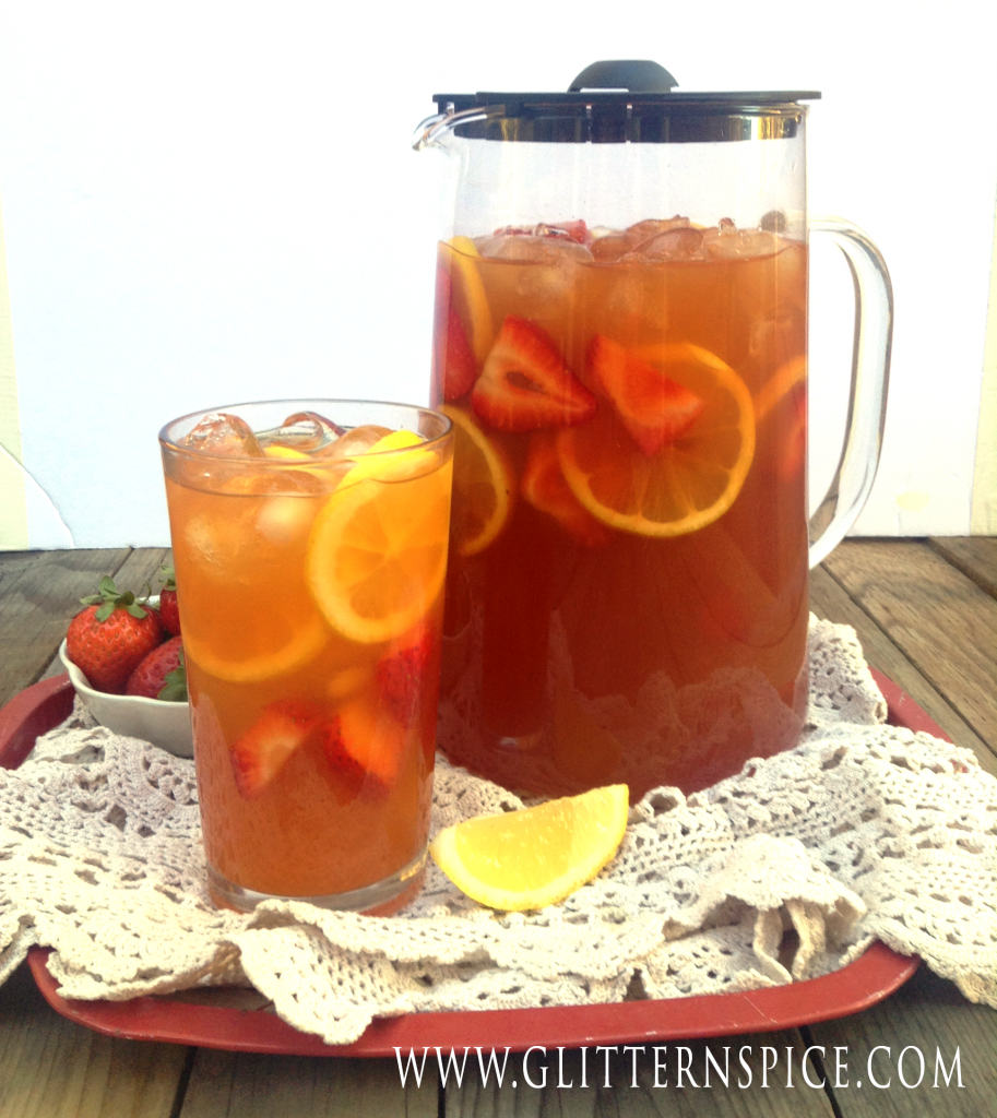 Strawberry Iced Tea Lemonade Recipe