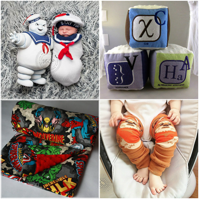 25+ Adorkable Geek Gift Ideas For Babies