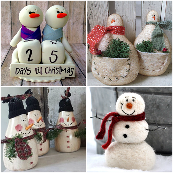 Snowman Decorating Ideas For Christmas