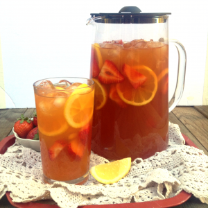 Brew Homemade Iced Tea In Just 10 Minutes With Capresso Iced Tea Maker Plus Strawberry Iced Tea Lemonade Recipe