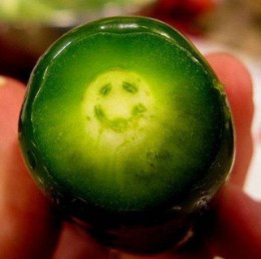 Smiley Face Jalapeno Pepper