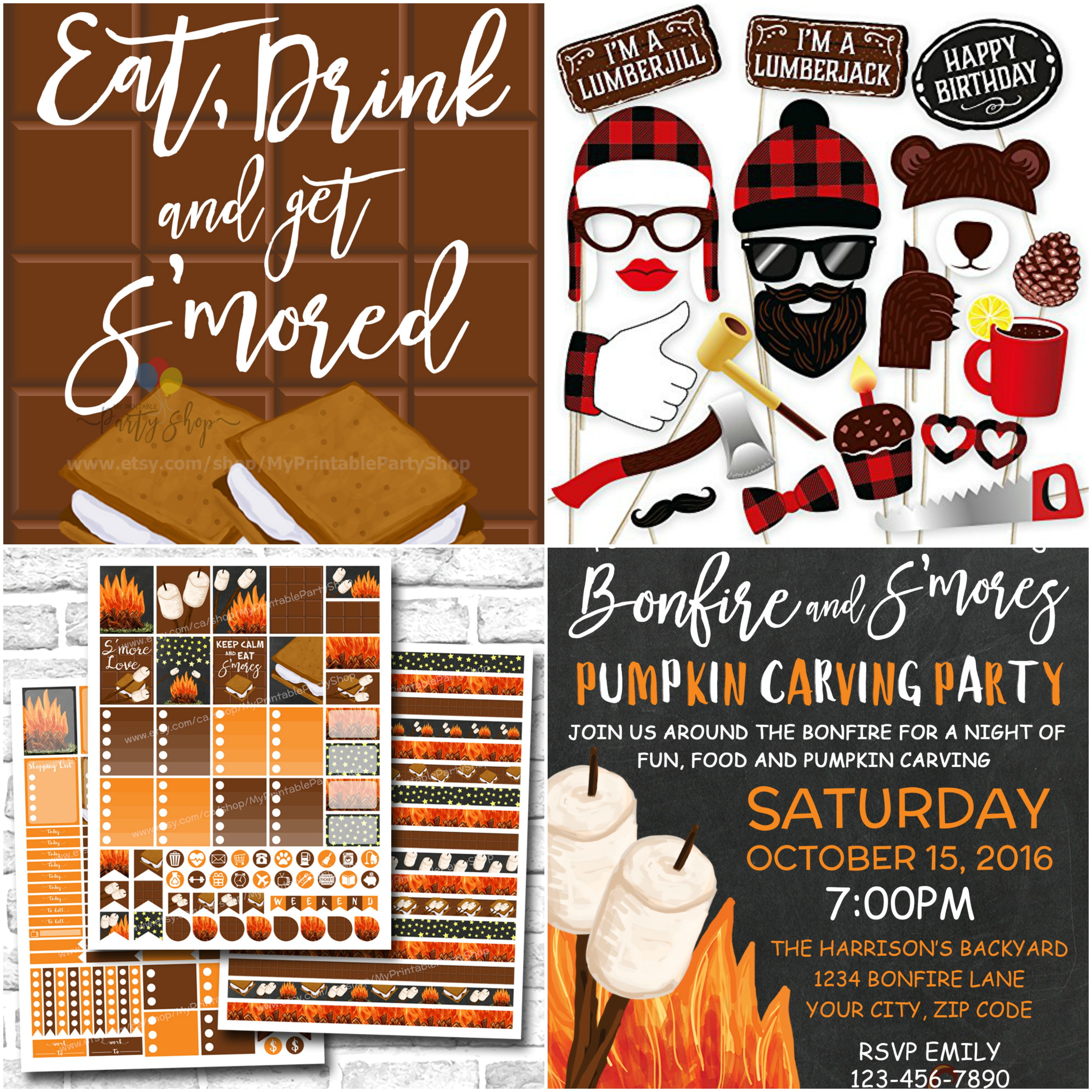 Ideas For Hosting A S'mores And Bonfire Backyard Party